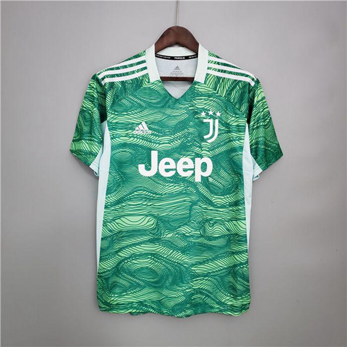 Maglie Calcio Juventus Portiere Verde 2021/2022 Ufficiali