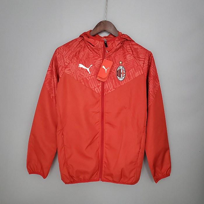 Siti Giacca A Vento AC Milan Rosso 2021/2022